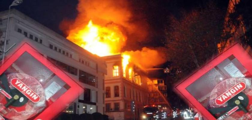 Yangın Dolabı Ne İşe Yarar