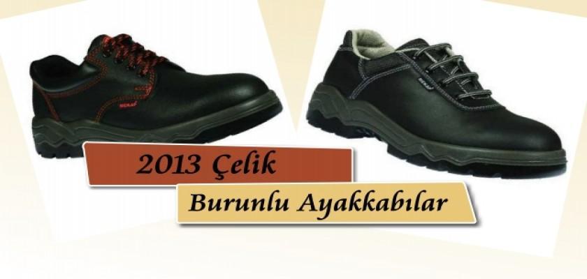 2013 Çelik Burunlu Ayakkabılar