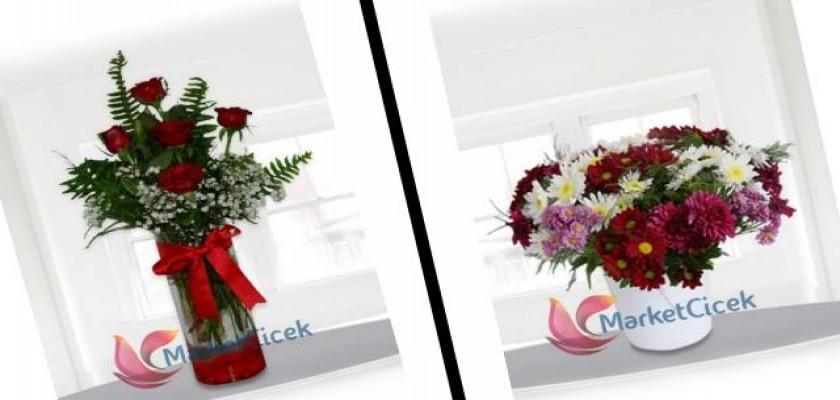 Bir Tık ile Çiçek Gönderimi Yapabilirsiniz
