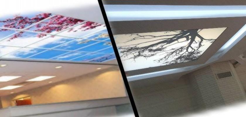 Dijital Baskı ve 3D Kalitesinde Tavan Tasarımları