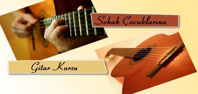 Sokak Çocuklarına Gitar Kursu