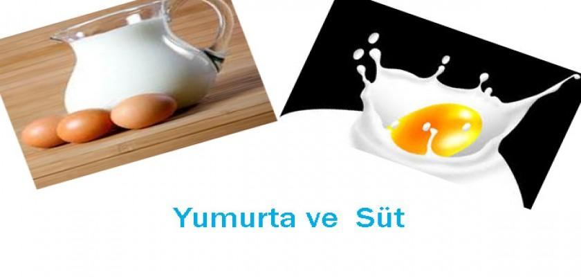 Süt ve Yumurtada Yapılan Hatalar