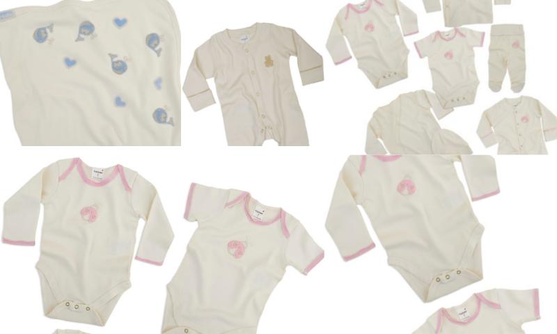 Bebeklere Özel Organik ve Antialerjik Kıyafetler
