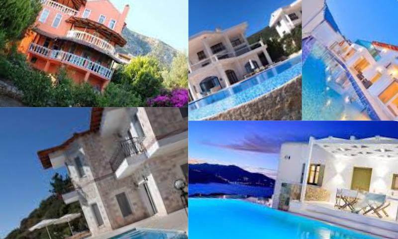 Lüks Deniz Manzaralı Balayı Villaları